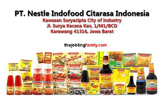 Info Loker Terbaru PT Nestle Indofood Citarasa Indonesia Bulan Oktober 2018