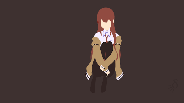 Tapeta Full HD z Kurisu Makise - Steins;Gate