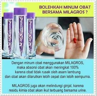 obat kimia dengan air milagros