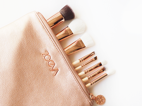 Zoeva Rose Golden Luxury Brushes Vol.2