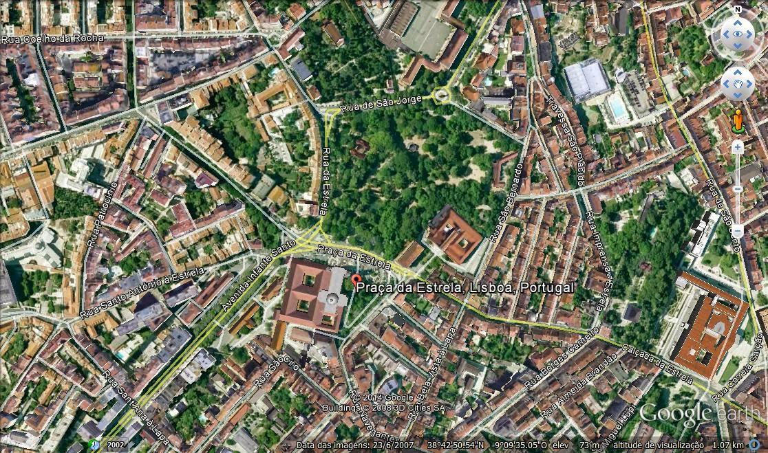 jardim da estrela lisboa mapa RUAS DE LISBOA ALGUMA HISTÓRIA: JARDIM GUERRA JUNQUEIRO [ I ] jardim da estrela lisboa mapa