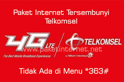 24 Paket Internet Tersembunyi Telkomsel Murah Terbaru