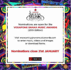 VGMA opens Nomination for 2019