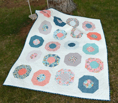 Poppies Quilt Tutorial for Ava Rose Hop!!!
