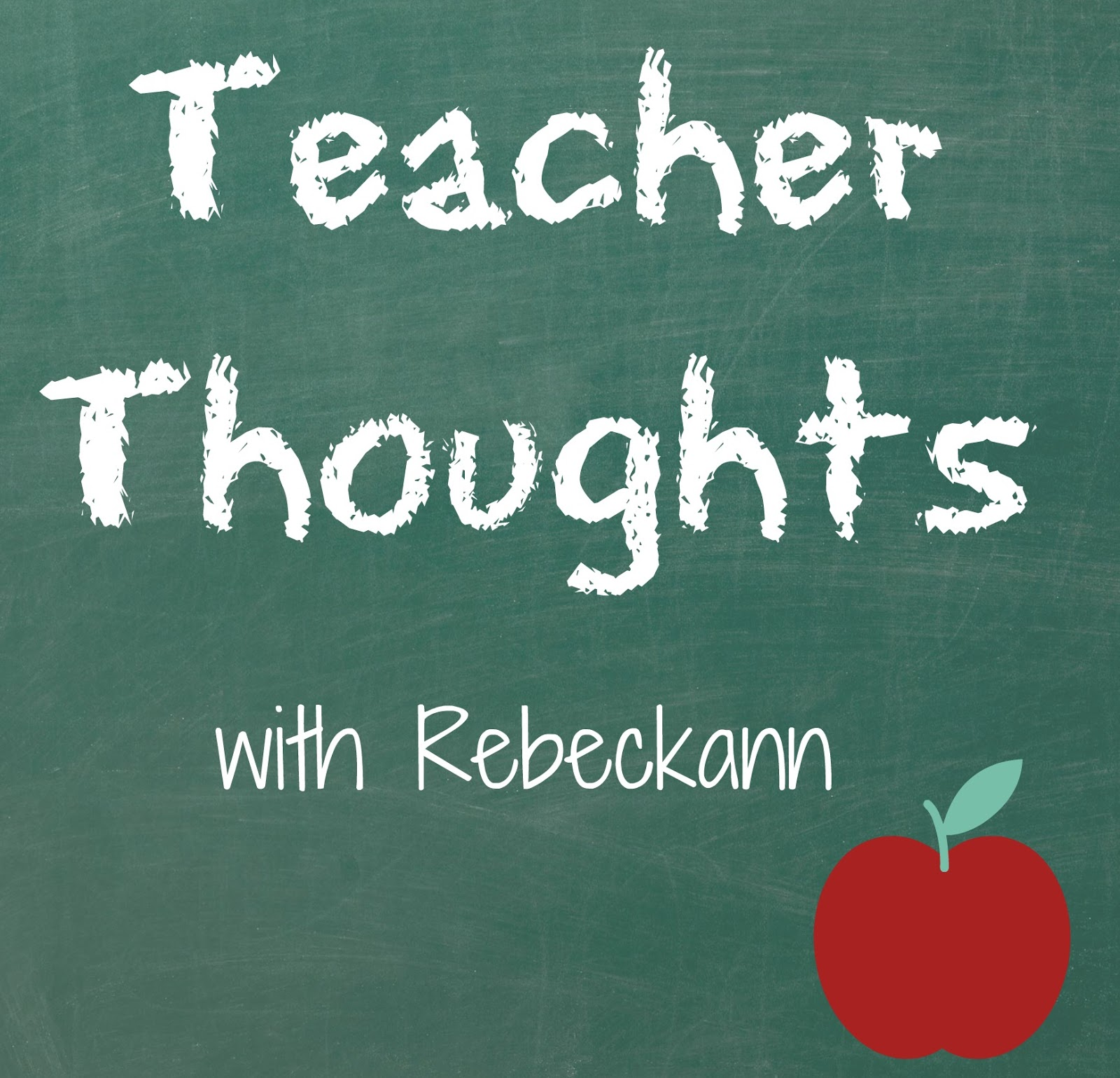 Thoughts And Guidelines For Preparing Teachers For School: Rebeckann's Random Thoughts