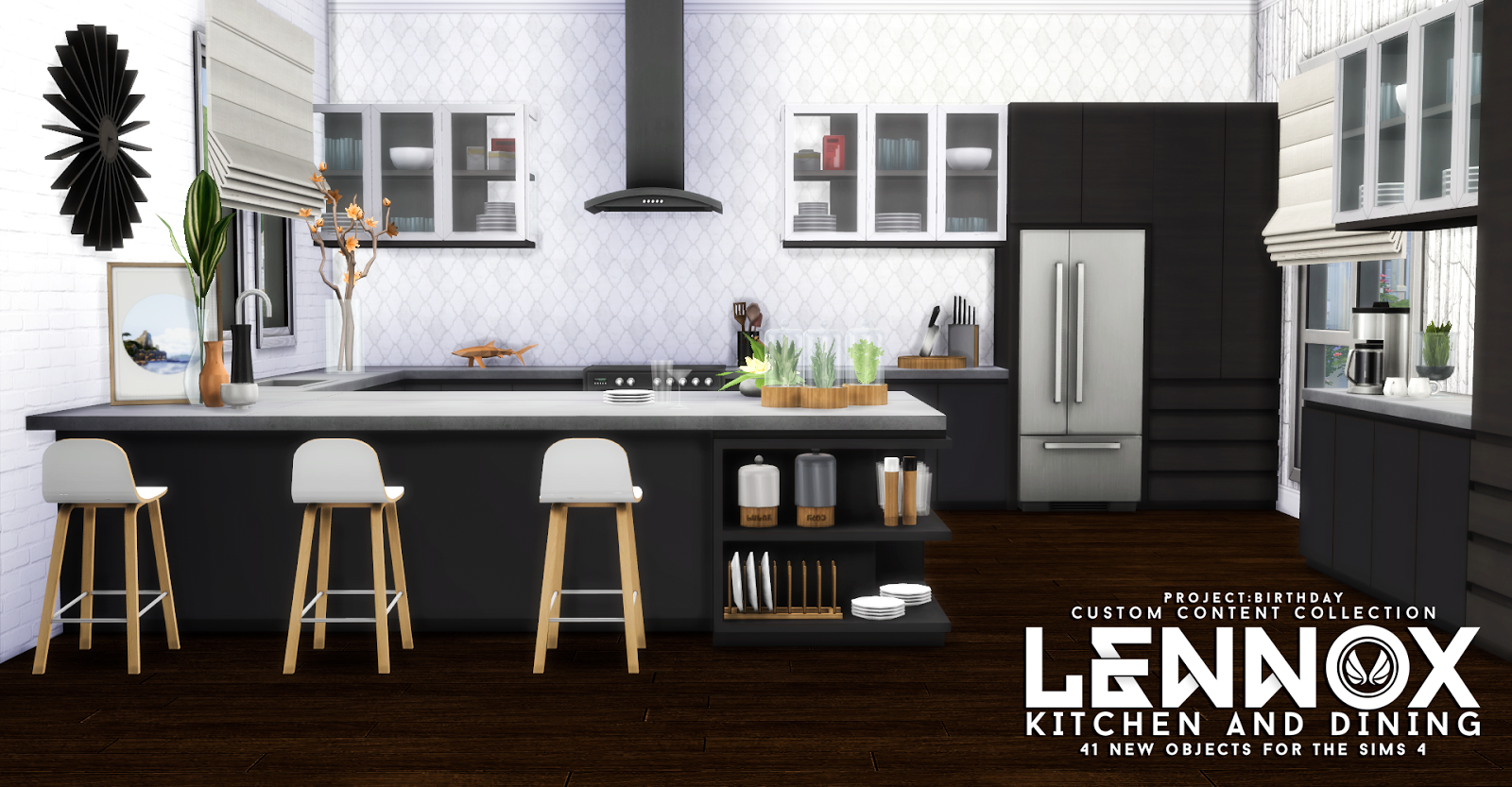 Sims Kitchen My Sims 4 Blog Updated Lennox Kitchen And Dining Set By