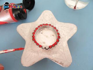 decorare la stella mandala