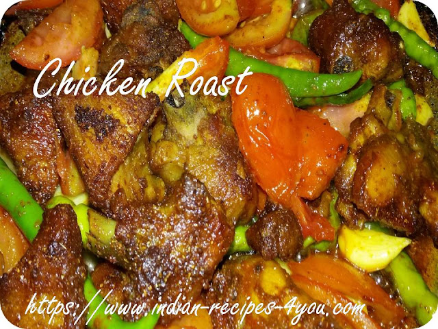chicken roast recipe in hindi
