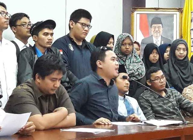 Jokowi-JK Membisu, Presiden BEM UNS Lintas Generasi Serukan Mahasiswa 28 Oktober Turun ke Jalan