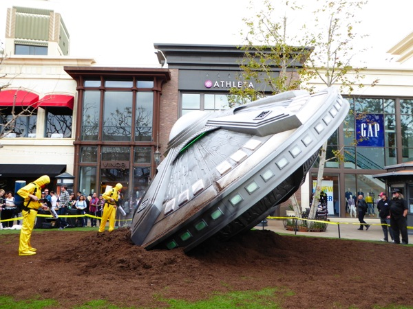 The X-Files crashed UFO installation The Grove