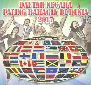 Daftar Negara Paling Bahagia Di Dunia 2017