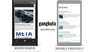 responsive atau mobile friendly