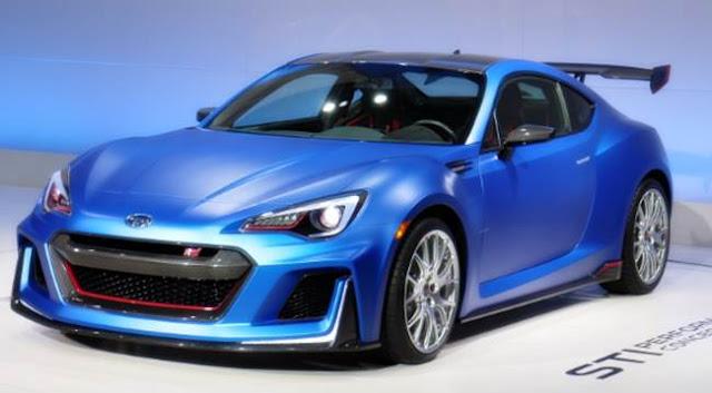 2018 Subaru BRZ STI Concept Price