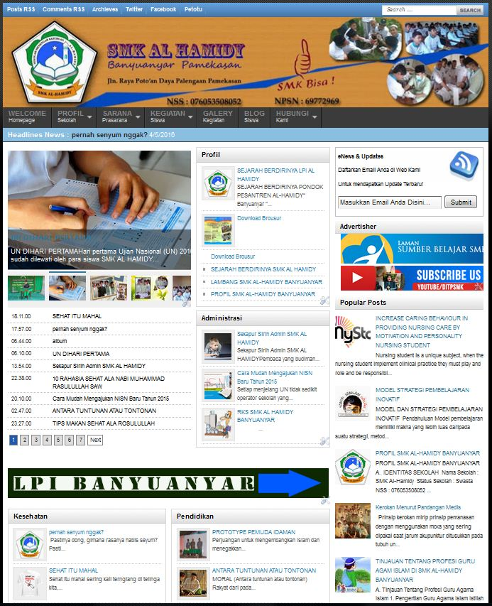 Download source code website sekolah { coding campus }.