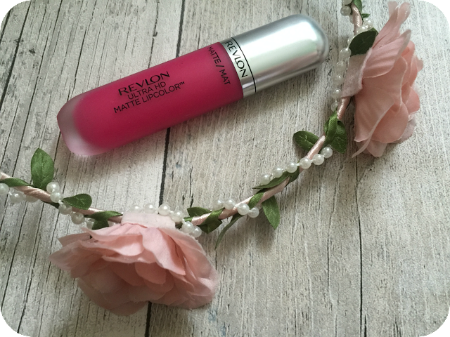 Revlon ultra hd matte lip colour in obsession