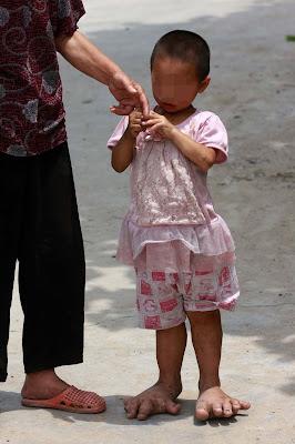 yuyu toddler feet china