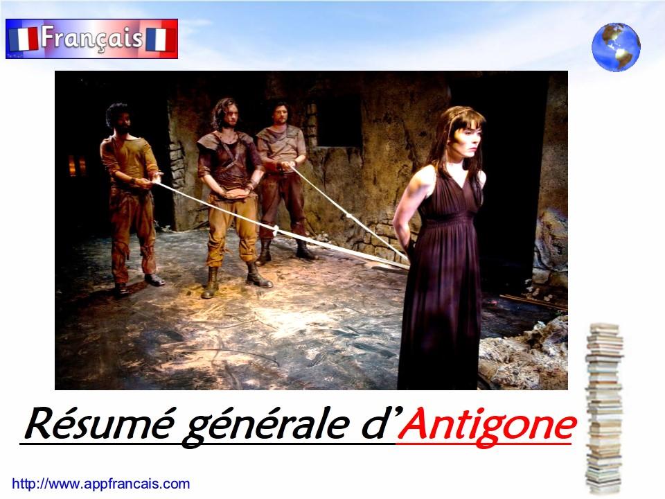 Résumé d\'Antigone