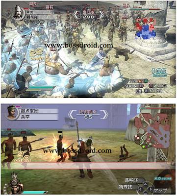 Dinasty Warrior 5 Shin Sangoku Musou 5 PPSSPP PSP Iso Terbaru