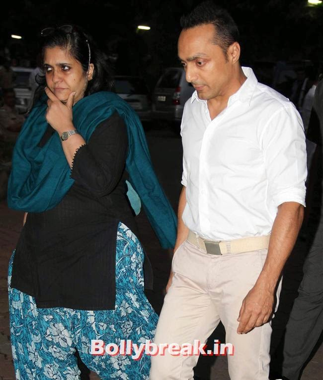 Rahul Bose, Celebs at Farooq Sheikh Prayer Meet