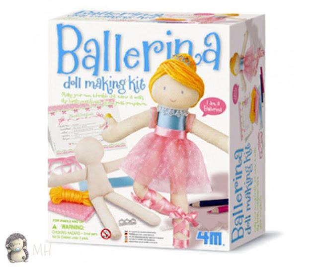 Kit para montar bailarina