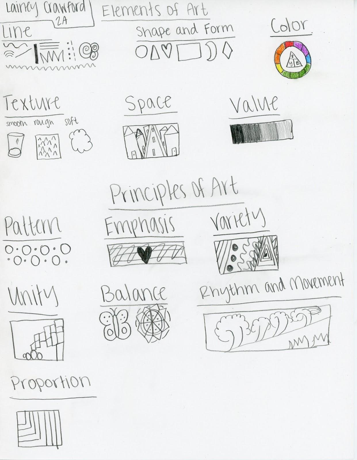 Stevecampbell Hillwood Standards 6 7 Amp 8 Elements And Principles Of Design