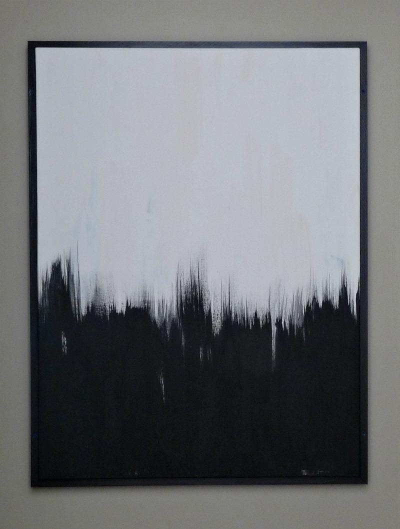 DIY art frame for painting
