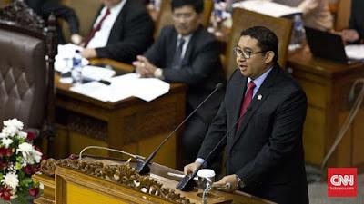 Terkaitl Empat Tuntutan Habib Rizieq, Fadli Zon Surati Jokowi