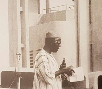 Throwback photo from late Chief Obafemi Awolowo