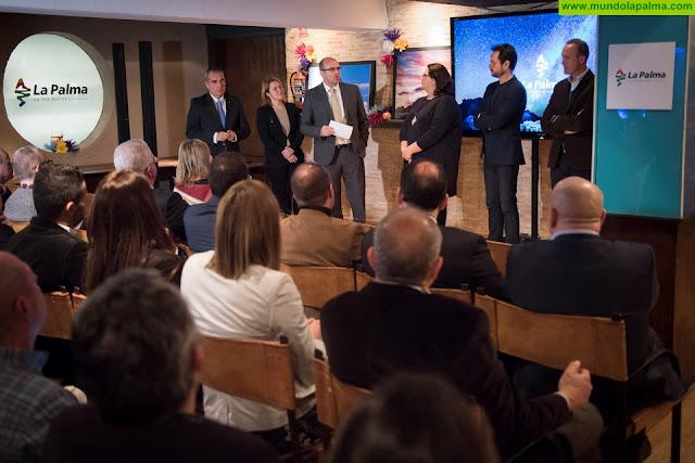 La Palma celebra un encuentro con agentes del sector turístico en un acto previo a la promoción de 'La Isla Bonita' en Fitur