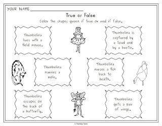 https://www.teacherspayteachers.com/Product/Thumbelina-Unit-818082