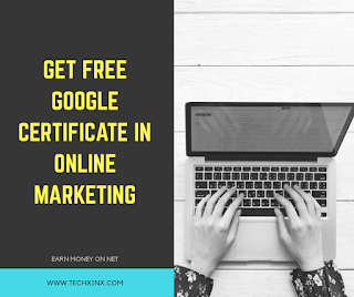 Free certificate from Google