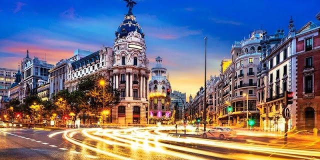 Lua de mel em Madri