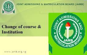2016 Jamb Change Of Course/Institutions Now Available For #2,500