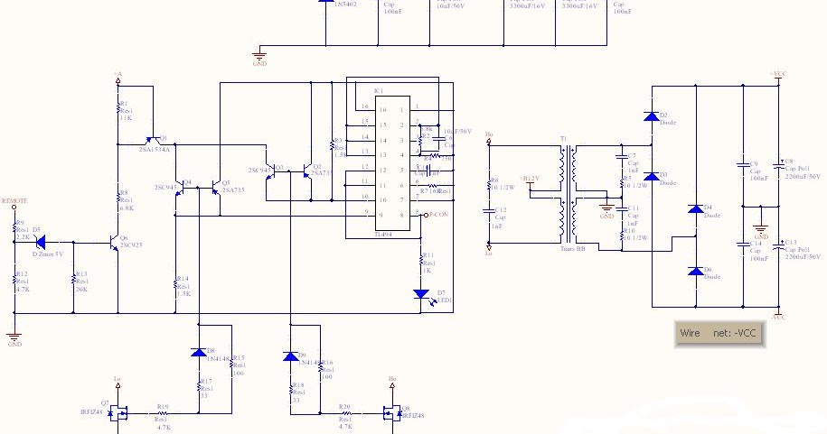 12 40 Voltage Dc To Dc Converter Schematic The Circuit
