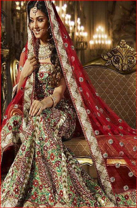Neo Bollywood: pakistani wedding dresses images