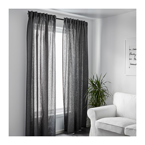 Burgundy And White Curtains Bedroom Color