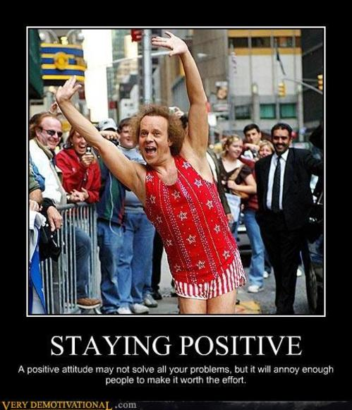 Funny Inspirational Quotes About Staying Positive: Richard Simmons Quotes. QuotesGram