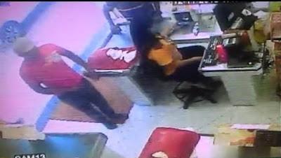 Vídeo mostra assalto a loja no centro de Alagoinhas; funcionários viveram momentos de terror