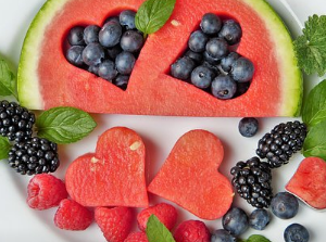 A variety of healthy foods for you who crave sweet foods