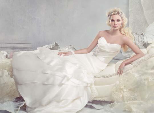 bebb5c43eef Wedding Gown Collection By Spring 2013 Alvina Valenta