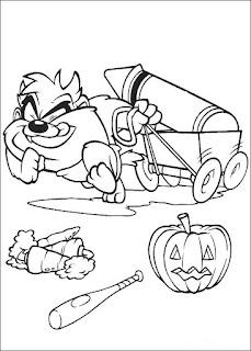 Ausmalbilder Baby Looney Tunes zum Ausdrucken