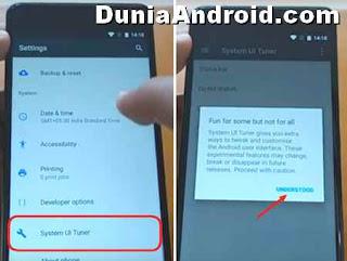 Cara menampilkan ikon persentase baterai Nokia