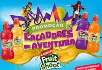 Promoção Caçadores de Aventura Fruit Shoot Maguary aventurafs.com.br