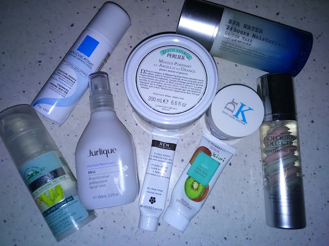 Fall/Winter Face Care Empties