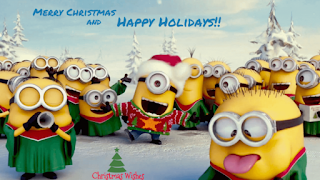 Funny Minions Merry Christmas HD Wallpapers