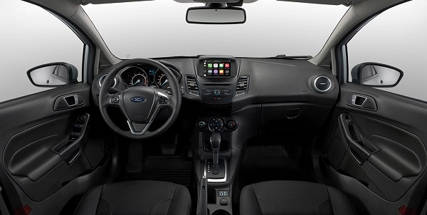 Interior Ford Fiesta 2018