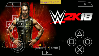 WWE 2K18 PPSSPP ISO Offline di Android