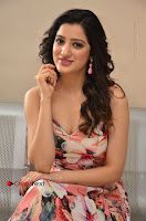 Actress Richa Panai Pos in Sleeveless Floral Long Dress at Rakshaka Batudu Movie Pre Release Function  0149.JPG