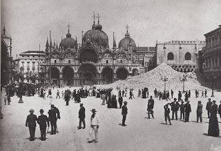 Crollo campanile san marco venezia