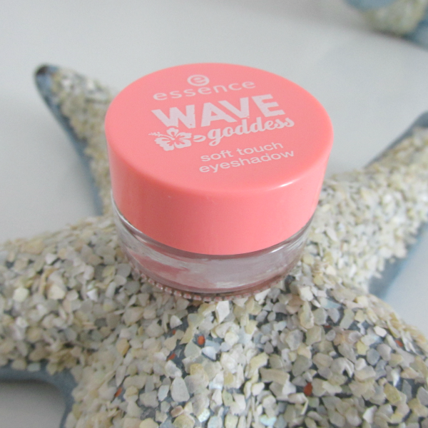 essence Wave Goddess Limited Edition soft touch eyeshadow review